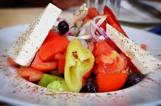 Insalata greca piatto
