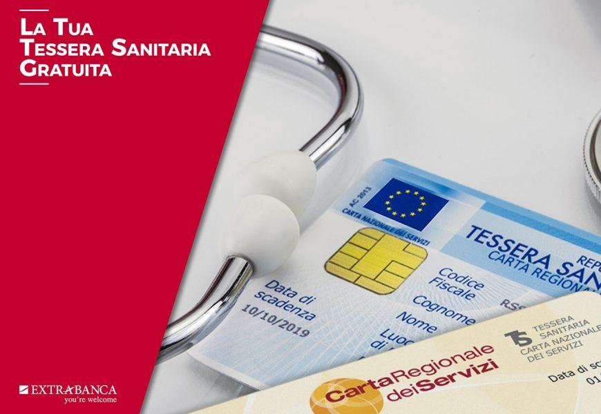 Come fare la Tessera Sanitaria gratuita | Extrabanca