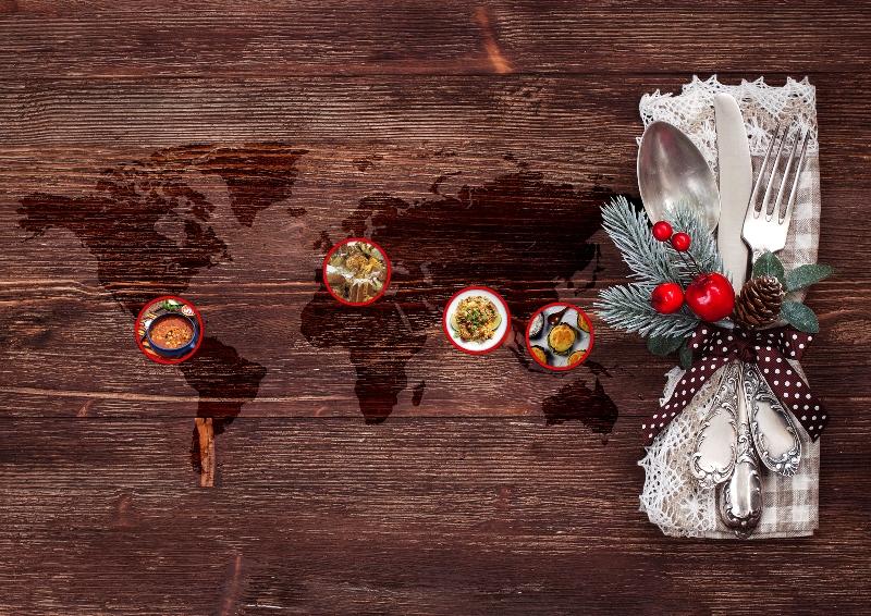 Natale: I piatti più popolari del mondo
