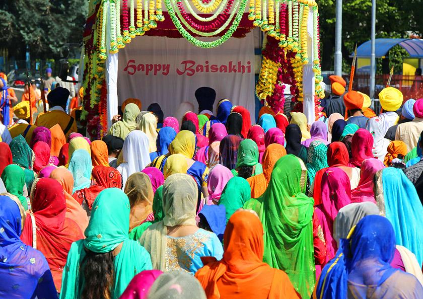 Vaisakhi, la festa dei Sikh