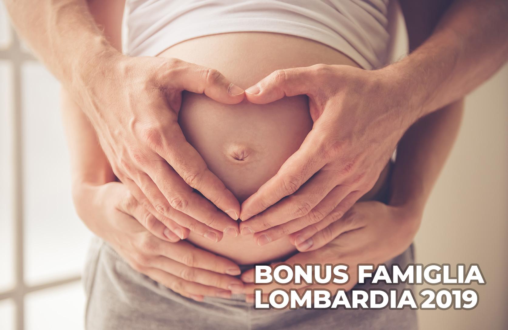 Bonus famiglia 2019. Regione Lombardia
